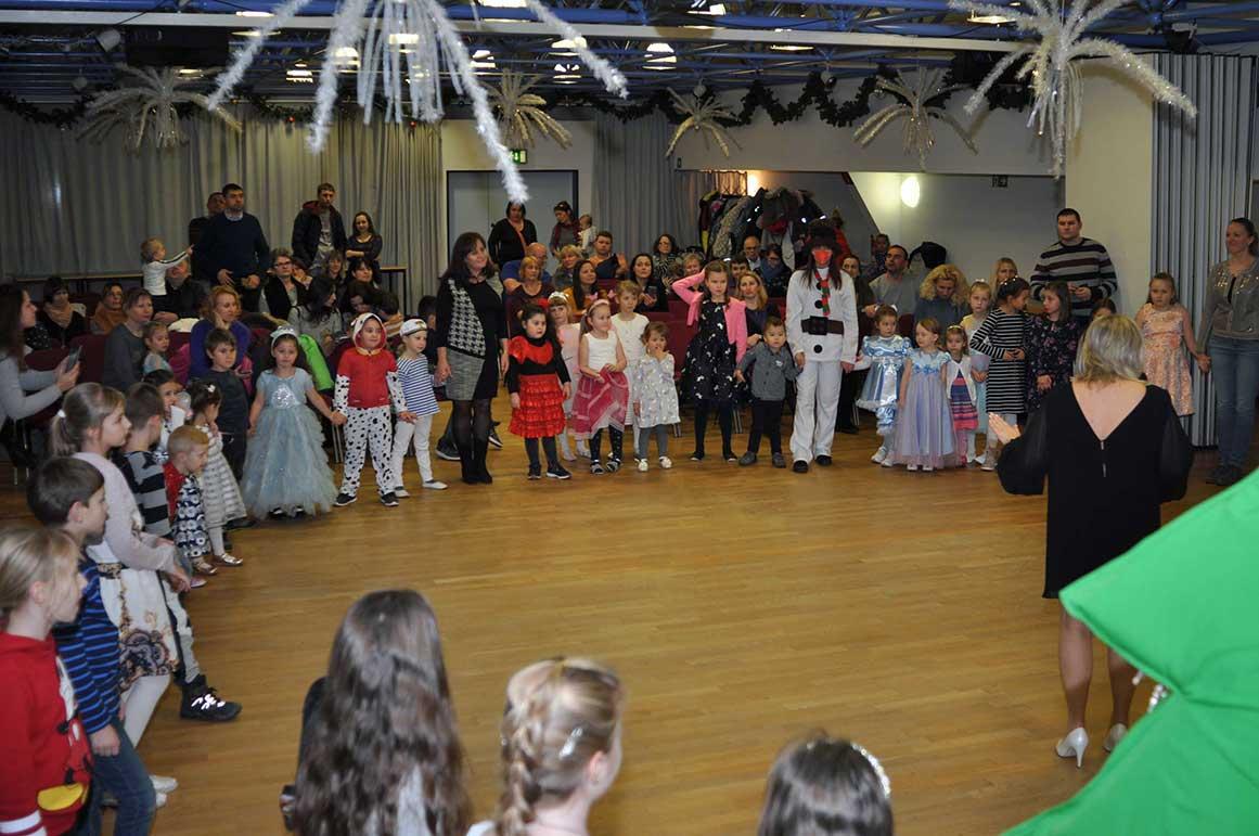Kinderweihnachtsfeier im LISA