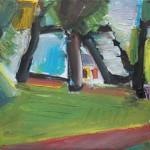 Aleksandr Nekrasov 4 - Plenairmalerei - MIG Jena e.V.