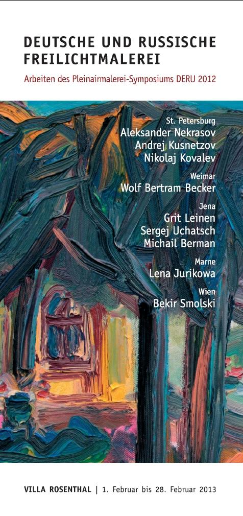 Deutsche und Russsische Freilichtmalerei